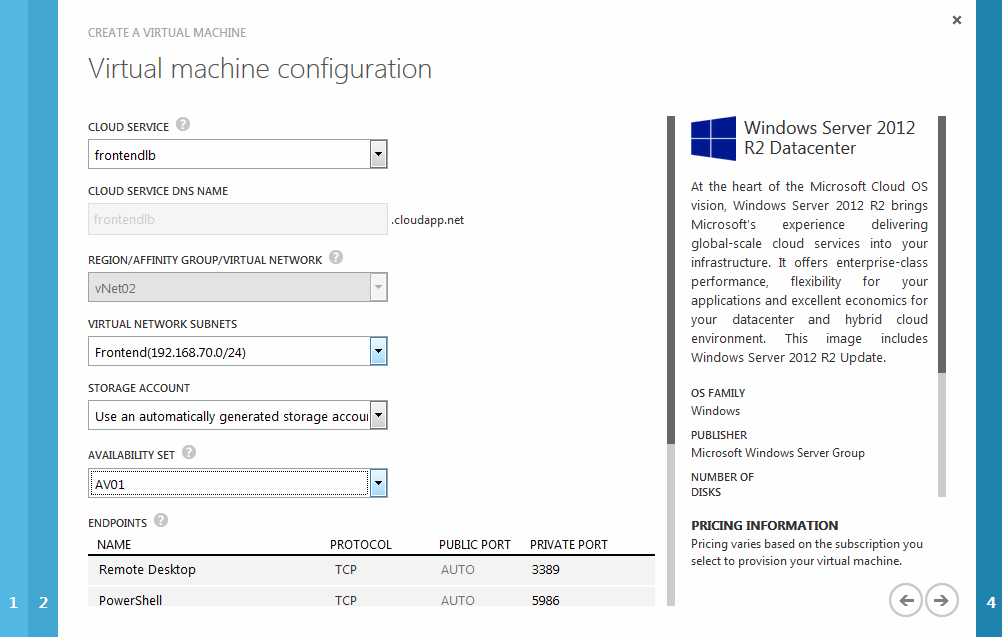 Azure External Load Balancer in Classic » CloudInspired com