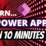 PowerApps Tutorial